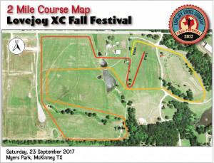 Fall Fest 2 Mile Course