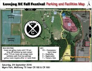 Fall Fest Parking Map - Ver 2