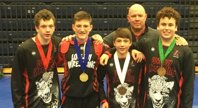 Willow Springs Men's Wrestling Places 4 at the State Championship!