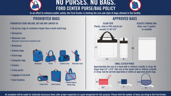 Purse-Bag Policy