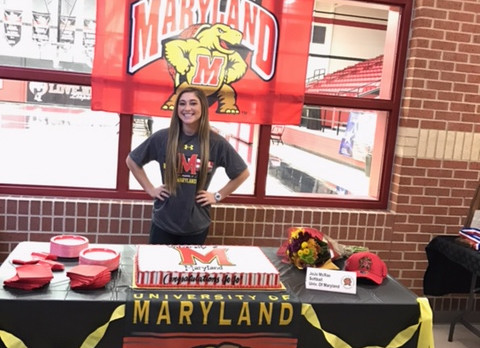 JoJo McRae signs with University of Maryland