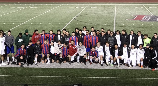 Lovejoy High School Boys Varsity Soccer falls to Alumni 4-1