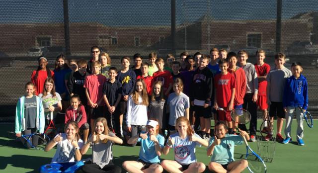 WSMS Tennis Beats Rockwall Cain 27-3