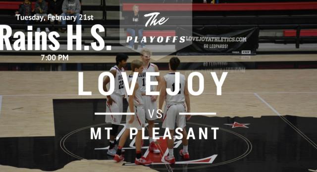 Lovejoy vs Mt. Pleasant – Tuesday, Feb. 21st