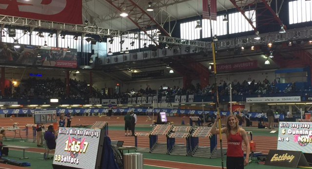Ridgeway Competes at New Balance Indoor Nationals