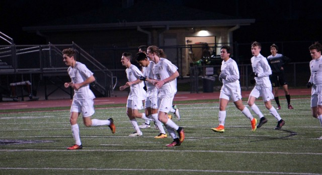 Lovejoy High School Boys Varsity Soccer beat Royse City High School 3-2