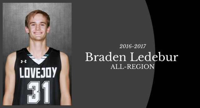 Braden Ledebur Selected to All-Region Team