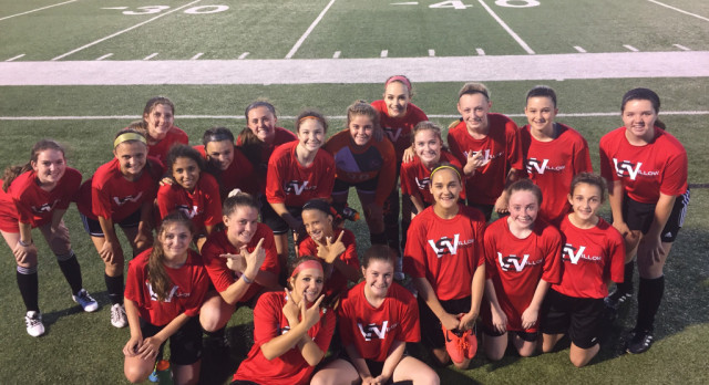 8th Grade Girls Soccer Win 3-1