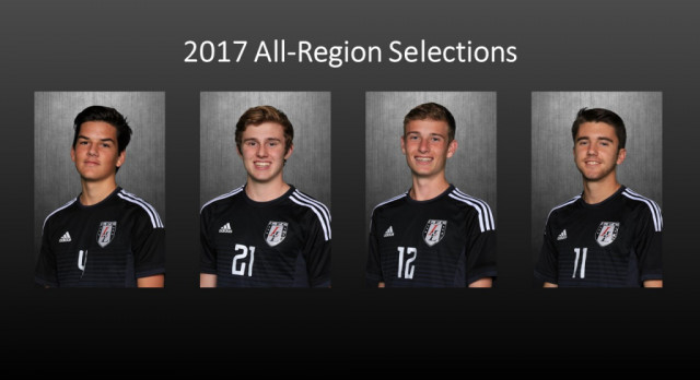Four Leopards Selected to All-Region Team