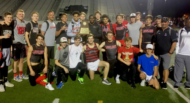 Lovejoy wins school's first-ever Boys Track and Field District Championship