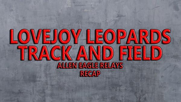 Allen Eagle Relays Recap Design