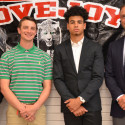 From Left to RIght (Tyler Van Wagoner, Coach Cody Alexander, Chase Van Wagoner, Coach Tim Denton
