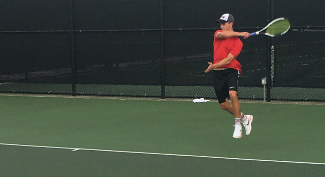 Lovejoy Varsity Tennis winning streak continues against Frisco Independence