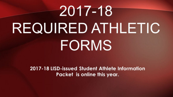 Athletic Forms Online