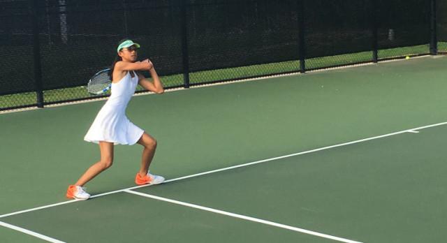 Varsity Tennis dominates Frisco Liberty 16-3
