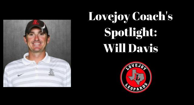 Coaches Spotlight: Will Davis