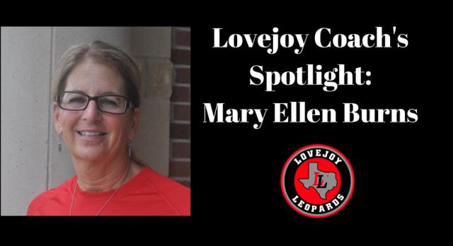 Coaches Spotlight:  Mary Ellen Burns