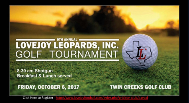LLI 9th Annual Golf Tournament – October 6th