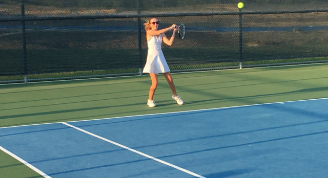 Lovejoy Varsity and JV Tennis Dominate North Forney