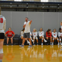 2017 volleyball action shots preseason