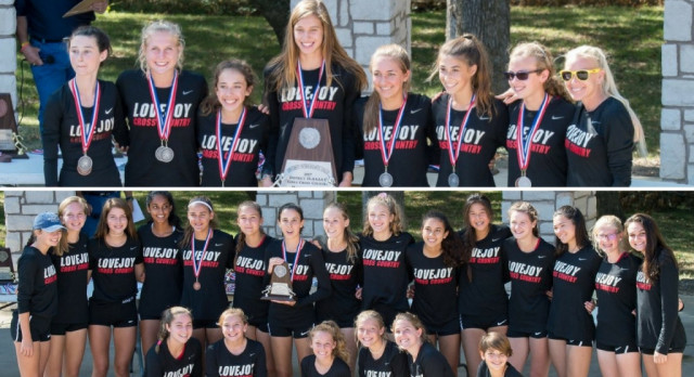 Girls XC District Runner Up