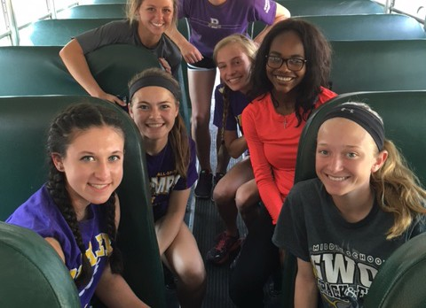 Girls' Track Competes in Regionals