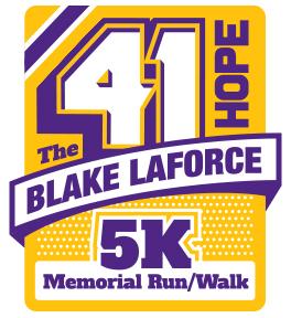 Registration for 41 Hope 5k Blake LaForce Memorial Run/Walk Opens