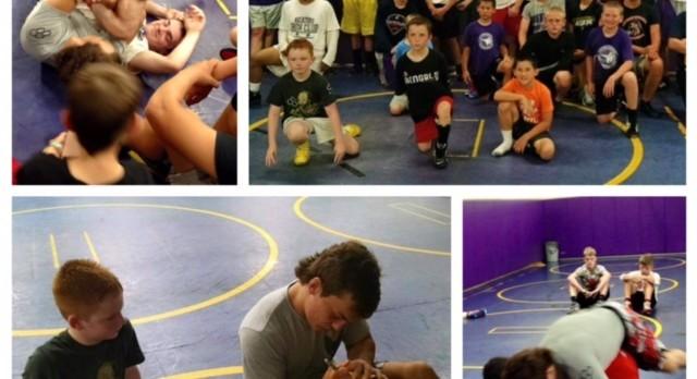 Wrestling Summer Camp Kicks Off