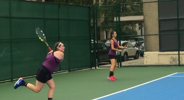 Girls' Tennis Prepares for Title Match