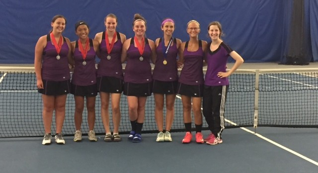 Win Streak Continues for Girls' Tennis