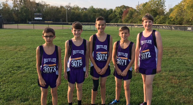 MS Runners End Season with Personal Bests