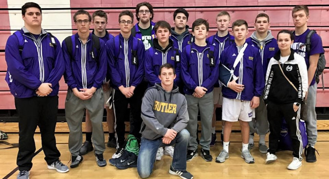 Varsity Wrestling Team Finishes Strong at Invitational
