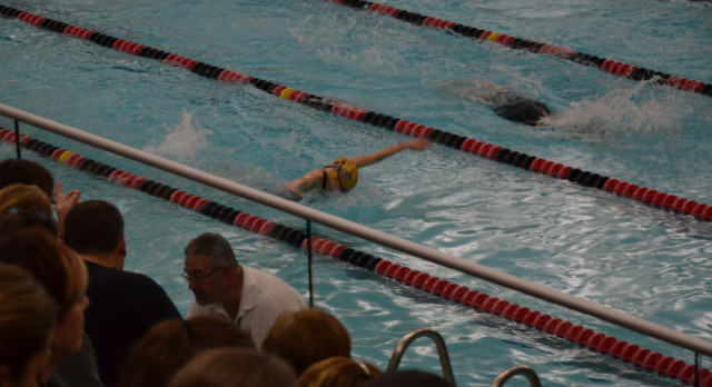 Girls Swimming Wins Trotwood Sectional