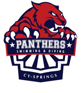 Panther Swimming Logo