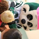 Cheer Visits Head Start for Red Ribbon Week