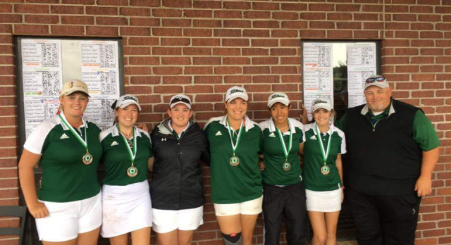 Lady Hornet Golf finishes 3rd