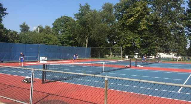 Mason Tennis ties St. Johns
