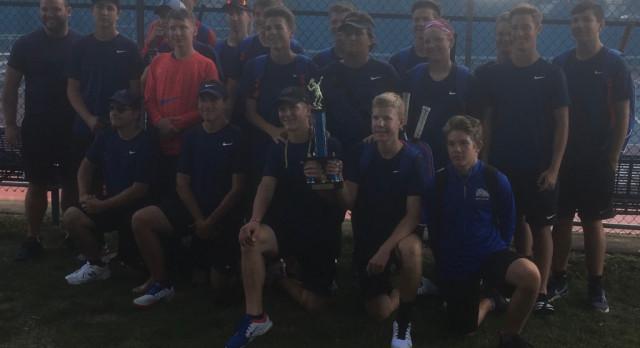 Mason Varsity Tennis wins Mason Invite