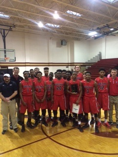 Opelika High School Boys Varsity Basketball beat Russell County 77-66