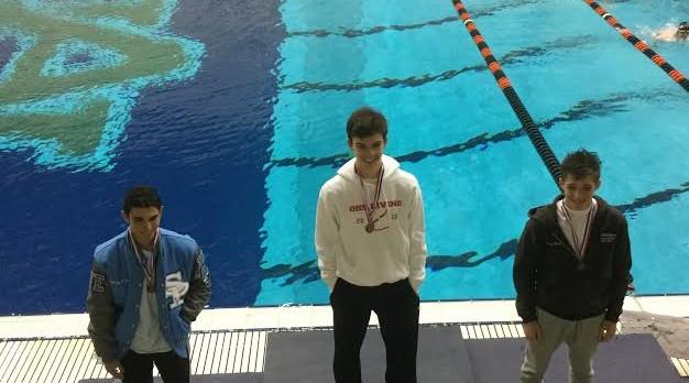 Pruitt wins 3rd Diving Championship