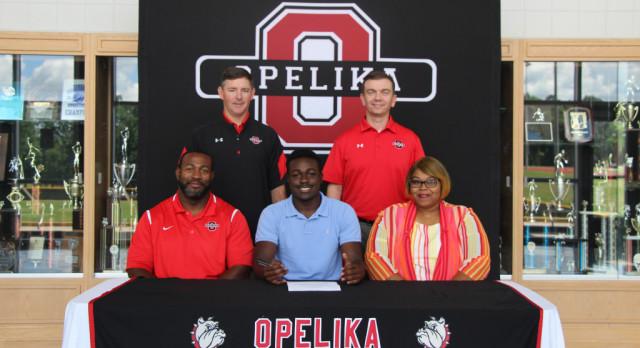 Antanavious Butler signs Track Scholarship