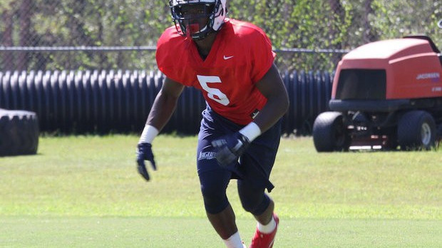 Former Dawg Malcolm Buggs 'emotional' over being awarded No. 5 jersey for South Alabama