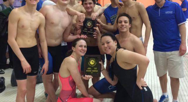 Swim.Dive win 4A North Regional titles