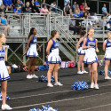 JV Cheer at Einstein game