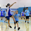 Varsity Team Handball vs Clarksviile