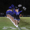 Poms Wheaton FBall Game