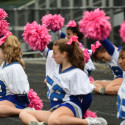JV Cheer Northwood Game