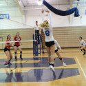 Volleyball vs Blair and Urbana Playoff