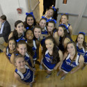 Varsity Cheer BBall vs Rockville