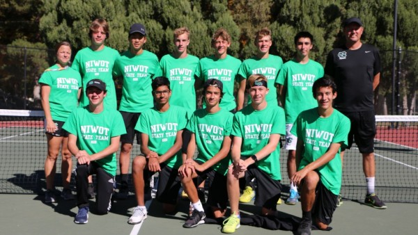 Niwot Boys Tennis State 2016